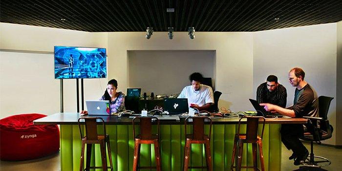 thiết kế văn phòng zynga 2
