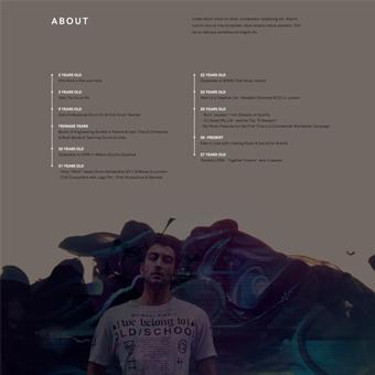 thiết kế website tối giản 2