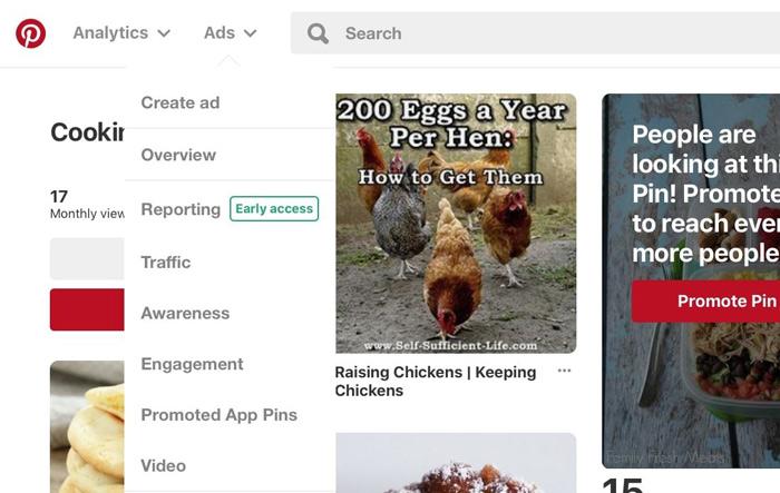 thiết lập chiến dịch quảng cáo trên Pinterest