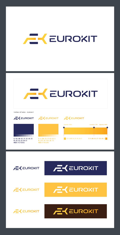 thông số màu sắc Logo Eurokit