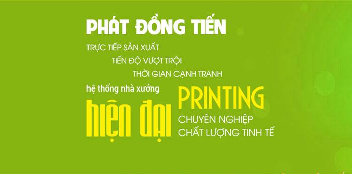 tiệm in Phát Đồng Tiến