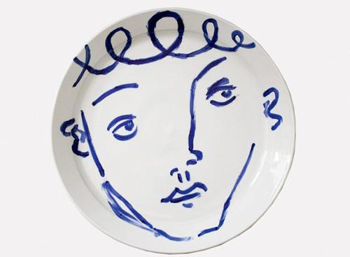 trang trí họa tiết cho bát đĩa