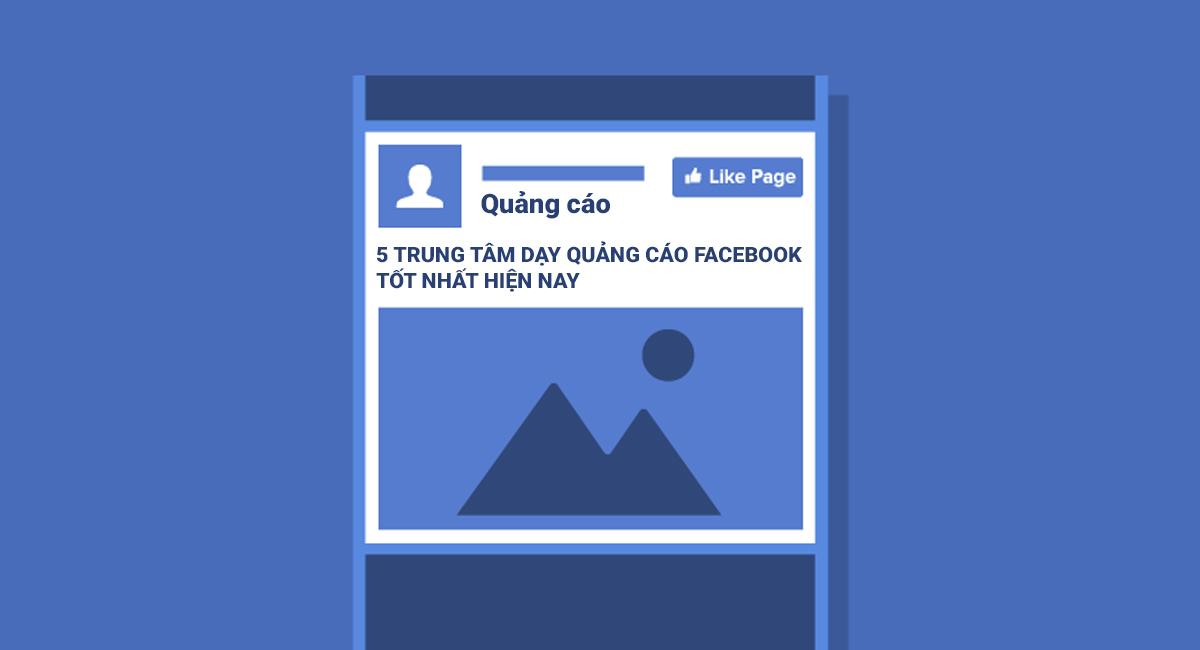 trung tâm dạy học quảng cáo Facebook