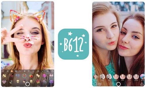 ứng dụng chụp ảnh đẹp b612