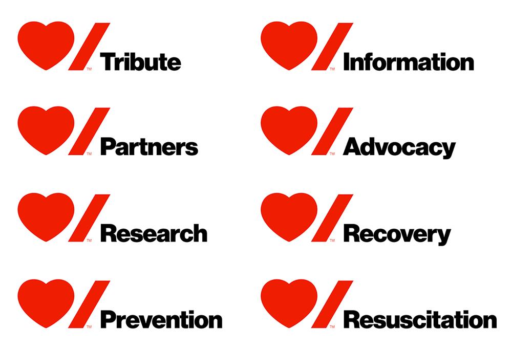 ứng dụng của logo heart stroke