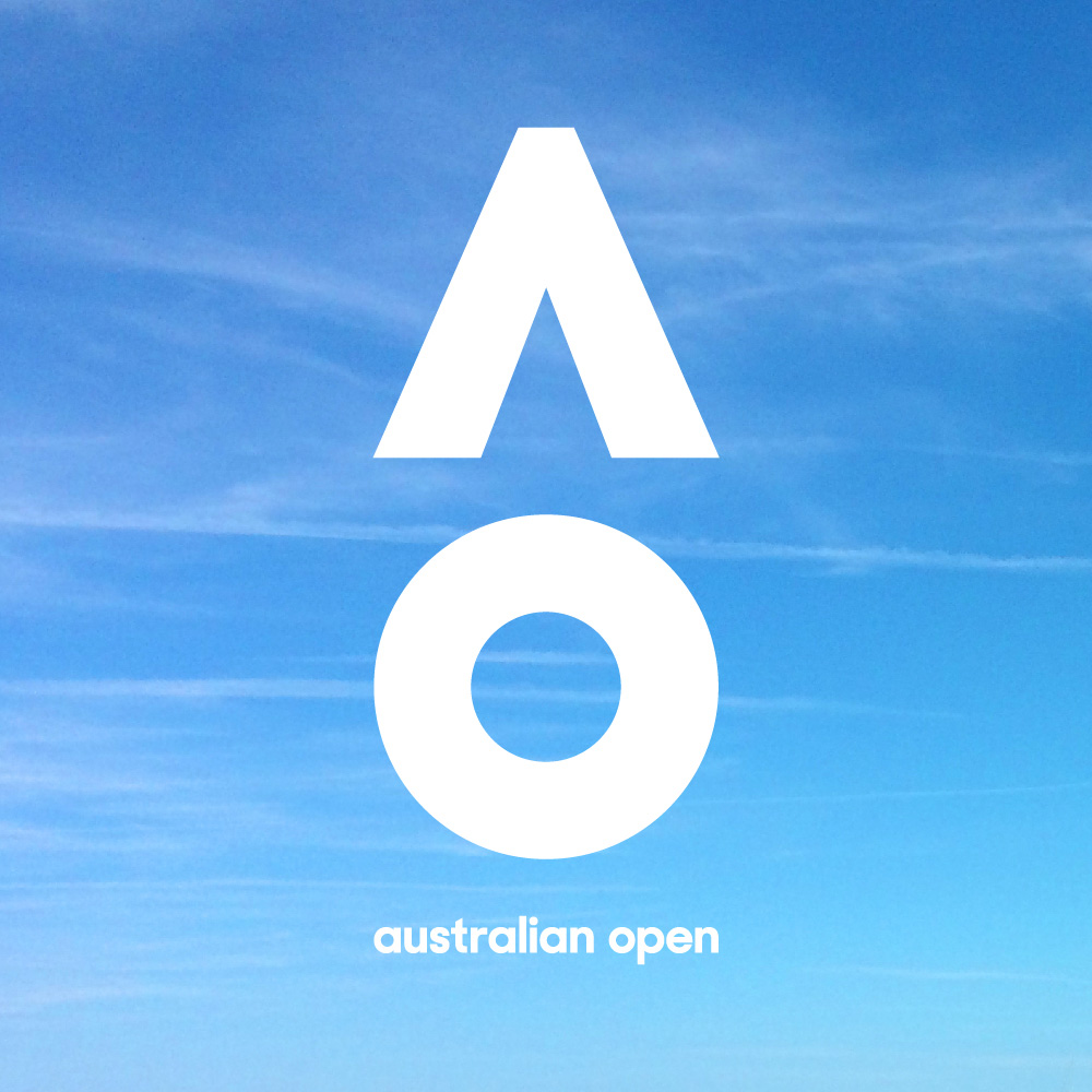 ứng dụng của logo australian open