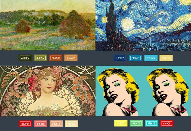 ứng dụng màu sắc trong thiết kế