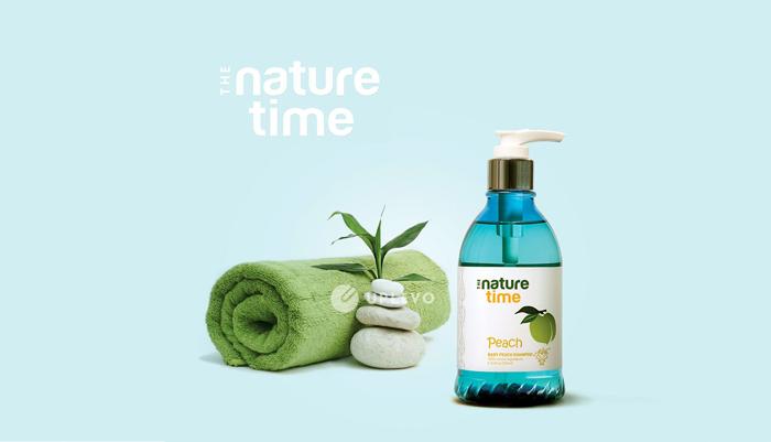 ứng dụng nhận diện thương hiệu the nature time