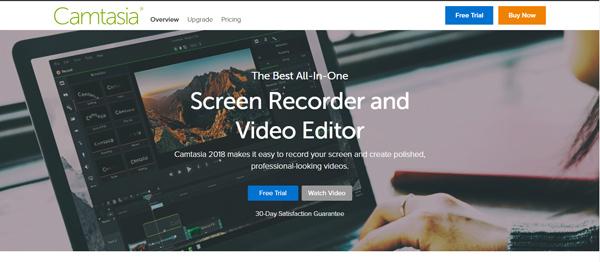 ứng dụng quay màn hình máy tính Camtasia
