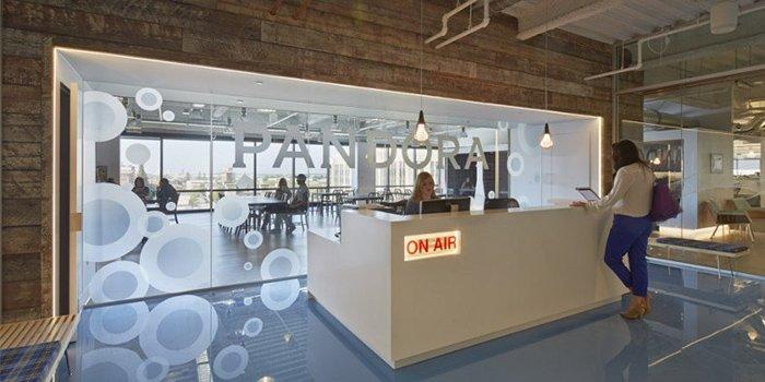 văn phòng của Pandora radio 2
