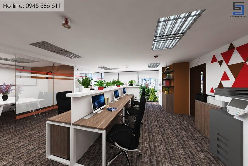 Ảnh thiết kế văn phòng đẹp 04