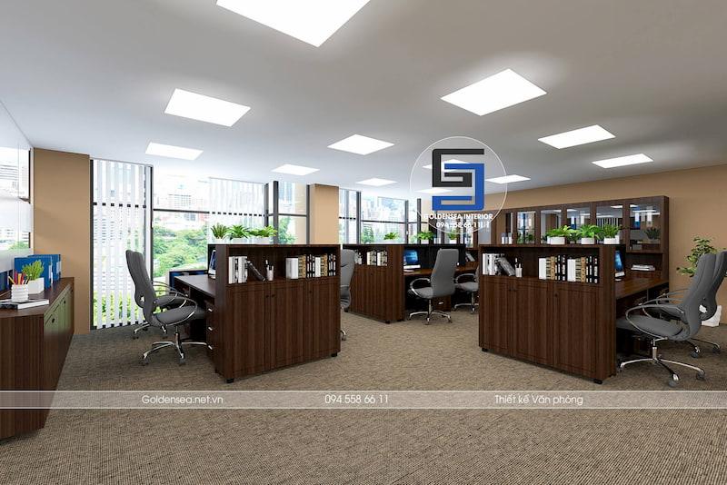 Hình ảnh thiết kế văn phòng đẹp cowater