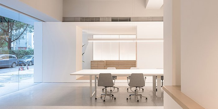 văn phòng tối giản atelier perter fong