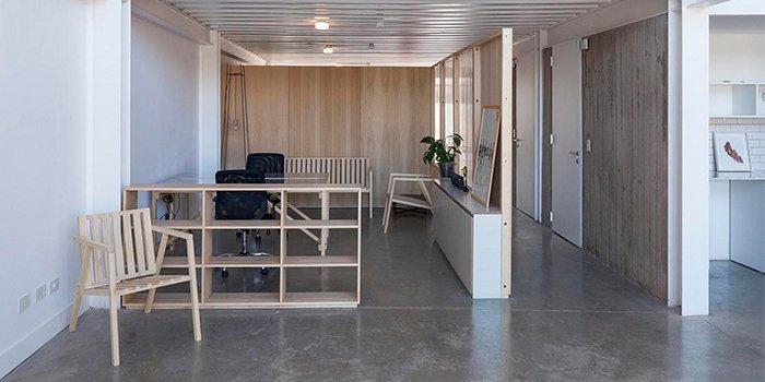 văn phòng tối giản circus
