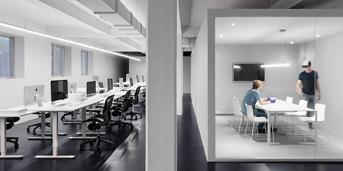 văn phòng tối giản Dynamo