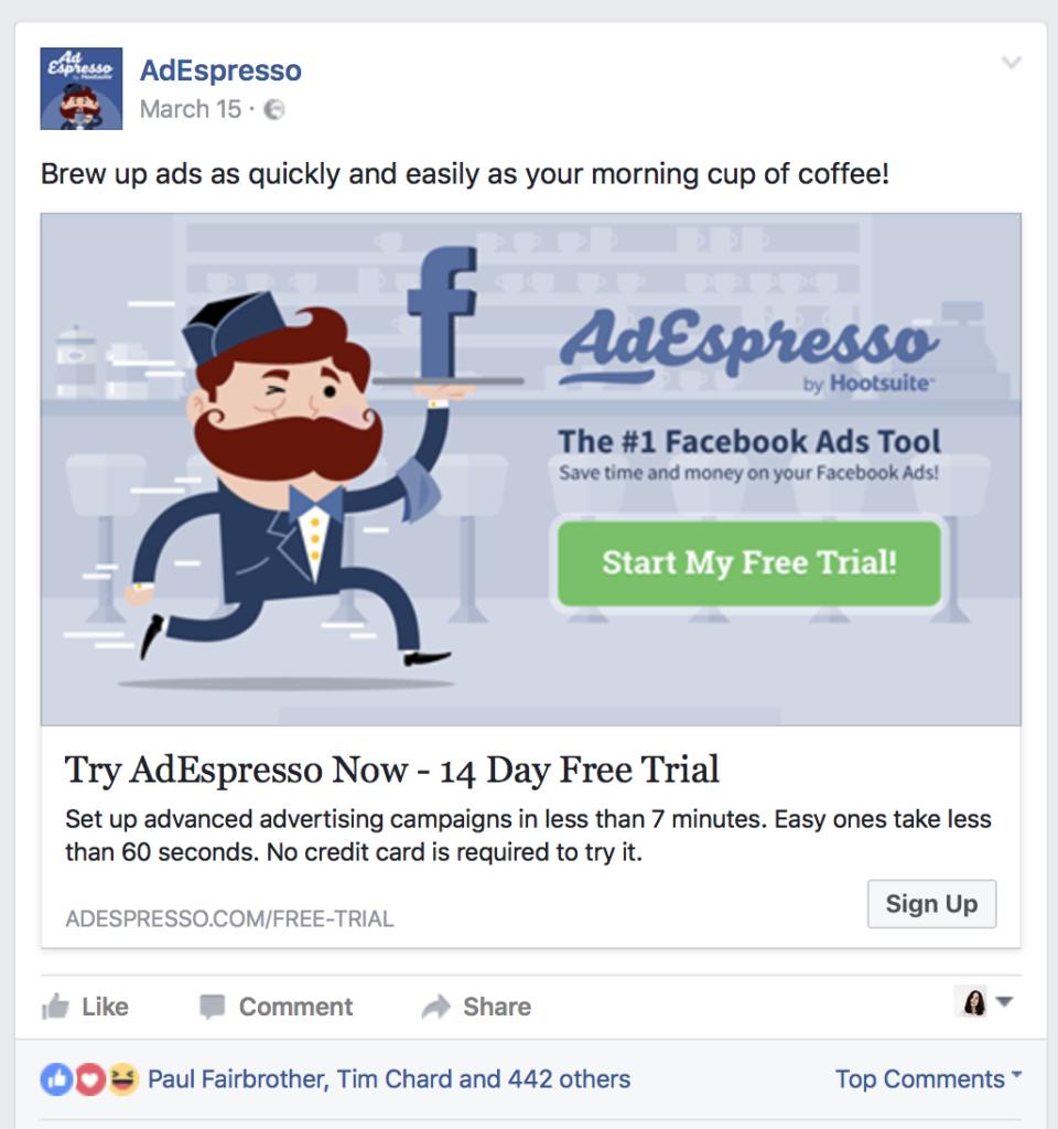 Lý do 4: Các chiến dịch quảng cáo trên Facebook có thể tuỳ chỉnh rất nhiều thứ.