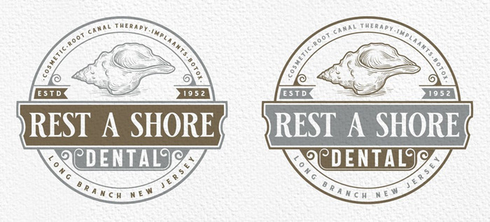 vintage badges trong thiết kế vintage
