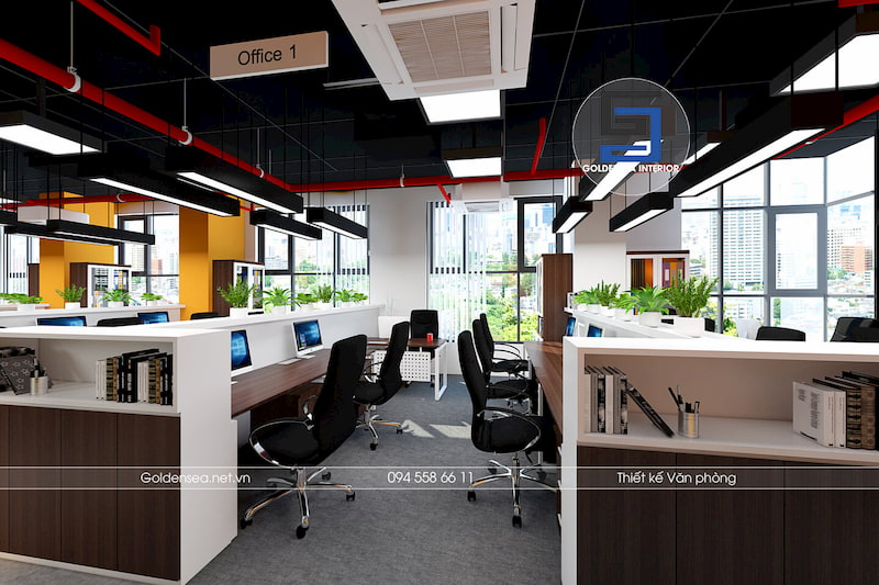 Văn phòng đẹp HD Mon 2