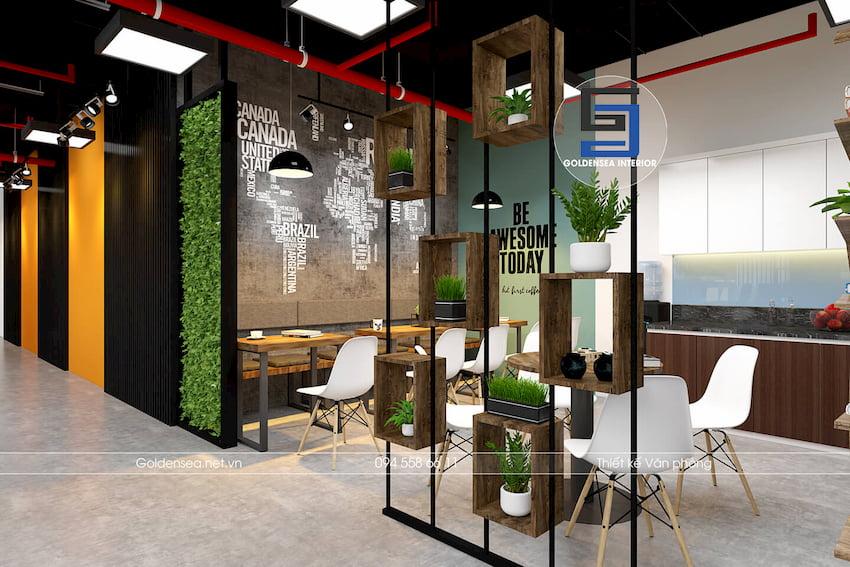 Văn phòng thiết kế đẹp HD MON