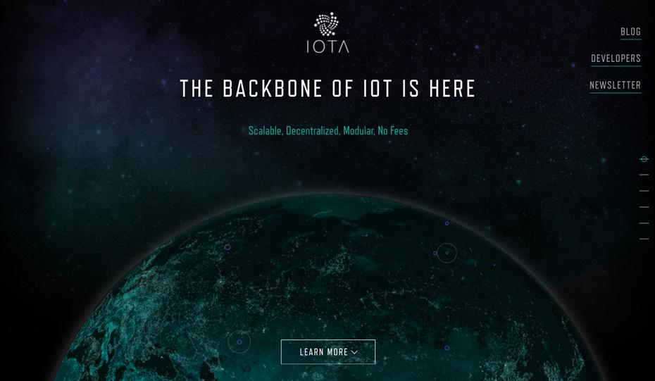 website của iota