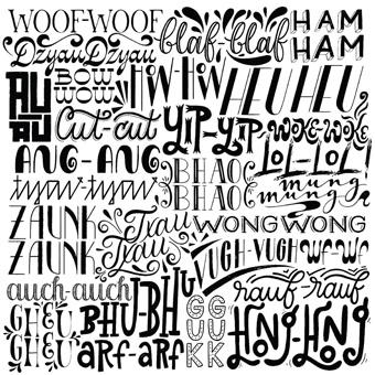 xu hướng font chữ 2019 hand-lettering 3