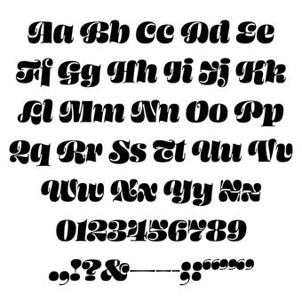 xu hướng font chữ 2019 serif contrast 5