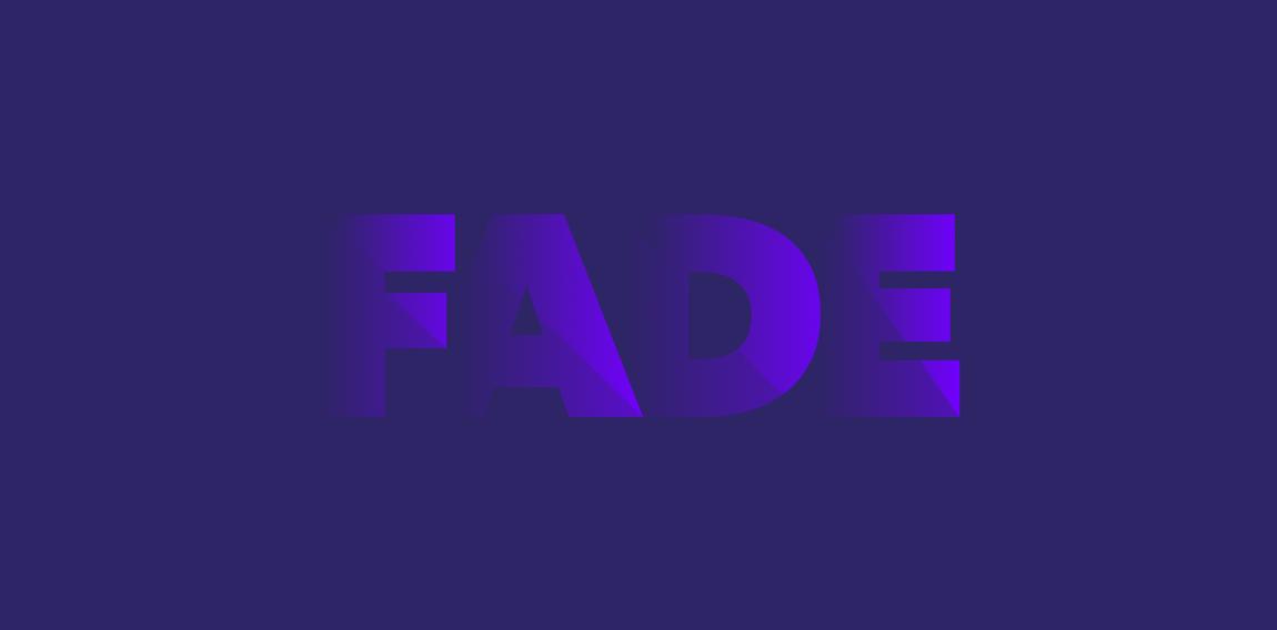 xu hướng thiết kế fading logo