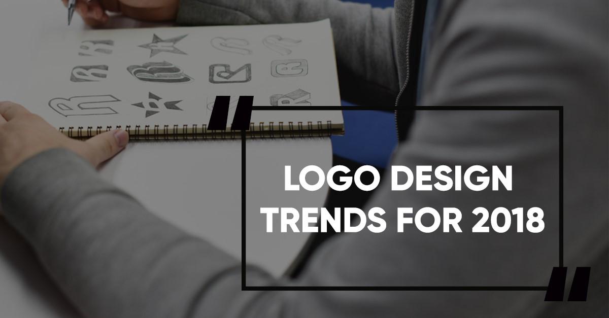 xu hướng thiết kế logo 2018
