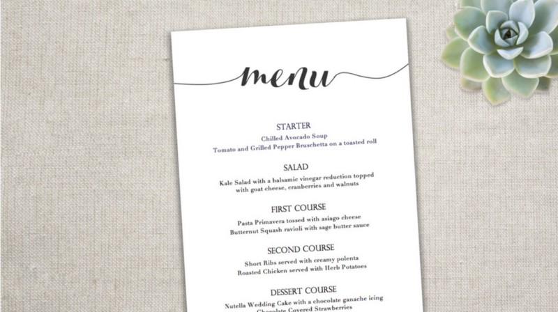 xu hướng thiết kế menu tối gian