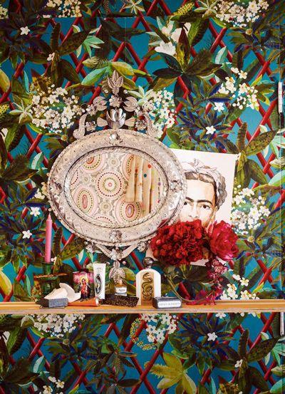 xu hướng thiết kế nội thất frida kahlo