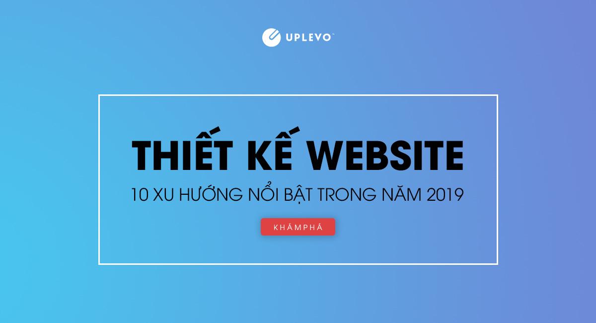 xu hướng thiết kế website 2019
