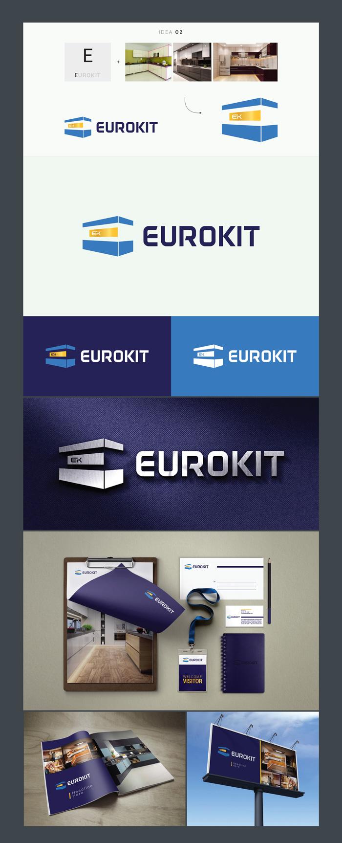 ý tưởng thiết kế Logo EuroKit 2