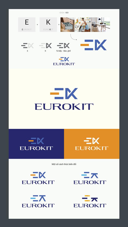 Ý tưởng thiết kế Logo Euro Kit 3
