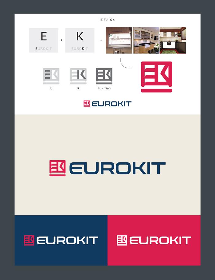 Ý tưởng thiết kế Logo Euro Kit 4